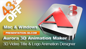 3D Video Title and Logo Animation Maker | Aurora3D Software