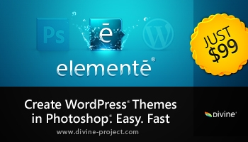Amazing Photoshop Plugin For WordPress Themes Creation - PC Only