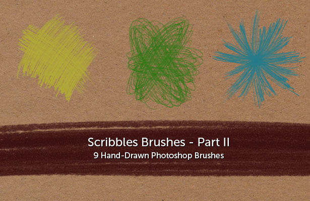 Scribbles Brushes - Part II