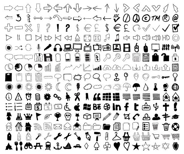 Imperfect: Hand-Drawn Icons