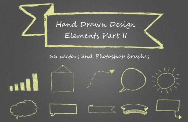 Hand-Drawn Design Elements - Part II