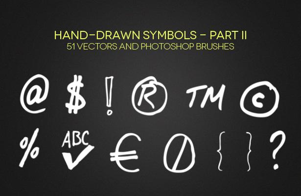 Hand-Drawn Symbols - Part II