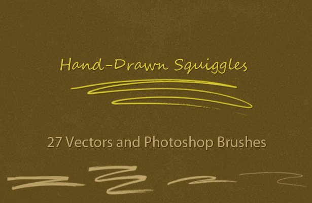 Hand-Drawn Squiggles