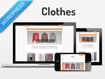 Clothes - apparel shop WordPress theme