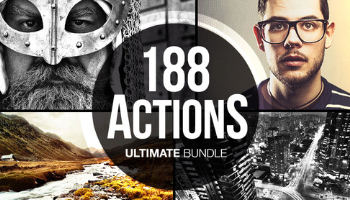 188 Gorgeous Photoshop Actions -Ultimate Bundle