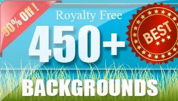 450 Royalty Free Backgrounds for only $12