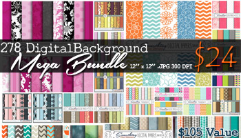278 Digital Background Mega Bundle for only $24: 77% Off