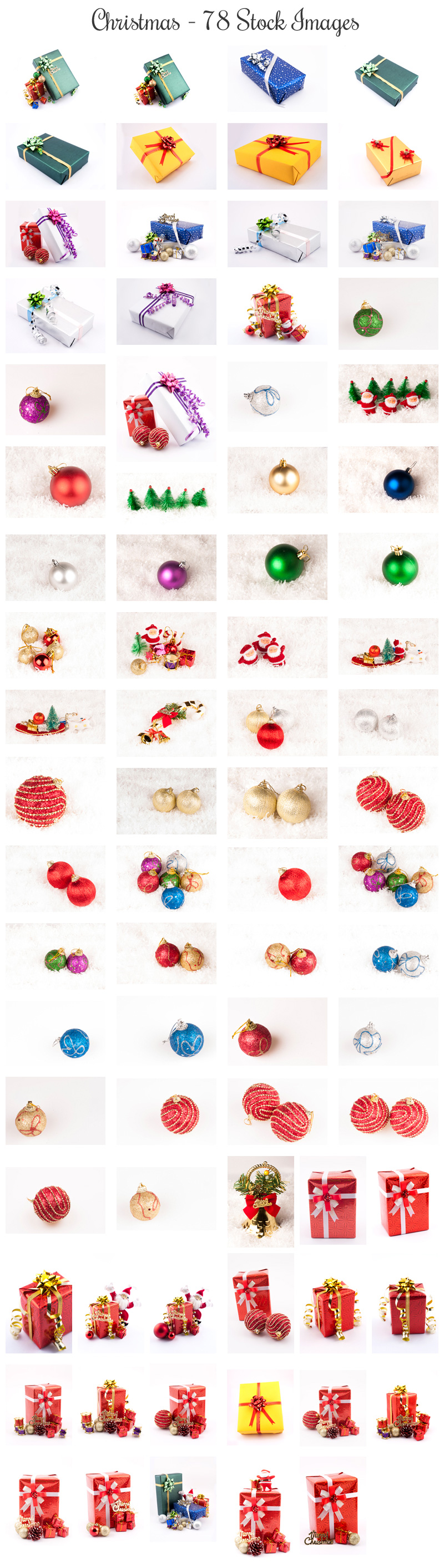 Christmas Stock Images Preview