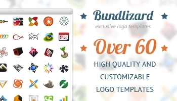 Bundlizard - over 60 logo templates for only $10
