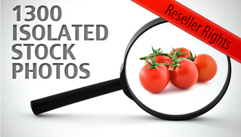 Isolated stock photos with Reseller Rights