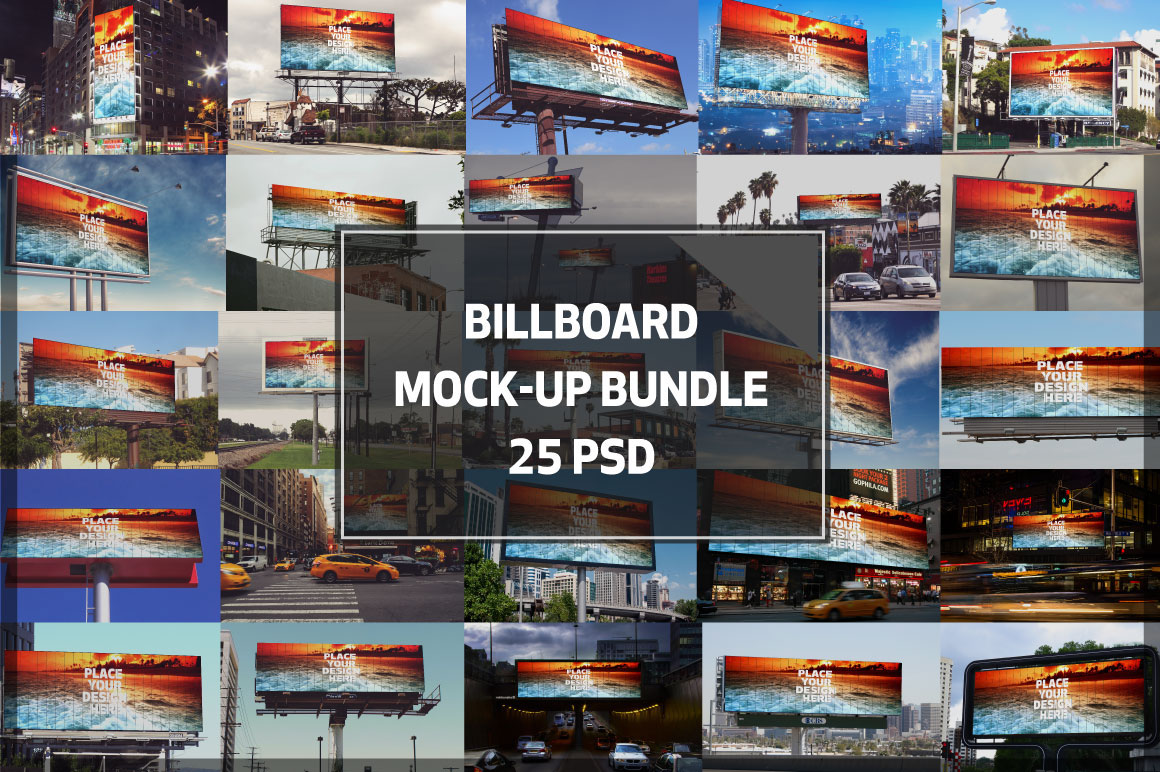 Billboard Mock-up Bundle