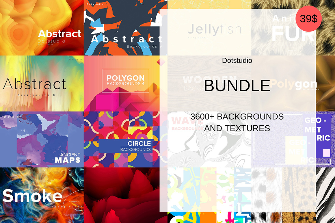 3600+ Backgrounds And Textures Bundle