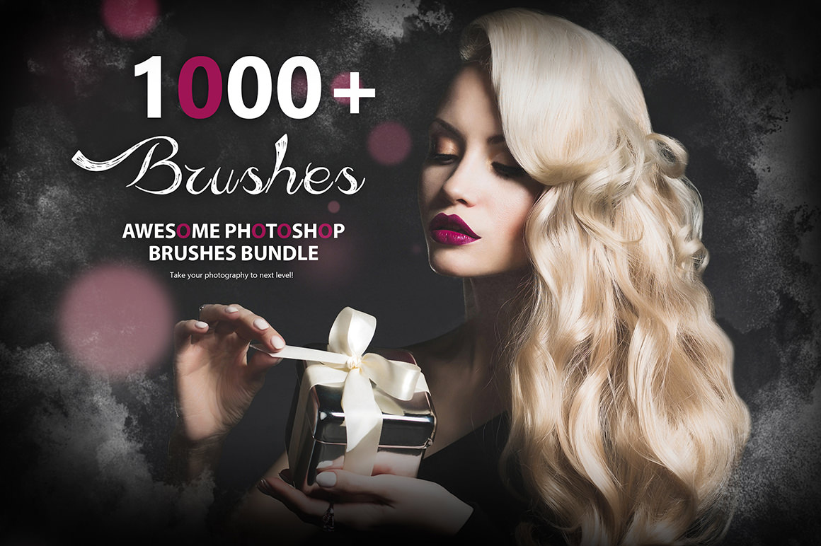 Get 1000+ Awesome Photoshop Brushes + 10 BRUSHES FOR FREE
