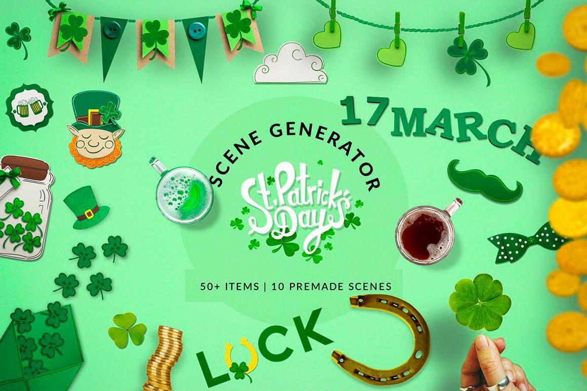 St. Patrick's Day - Scene Generator