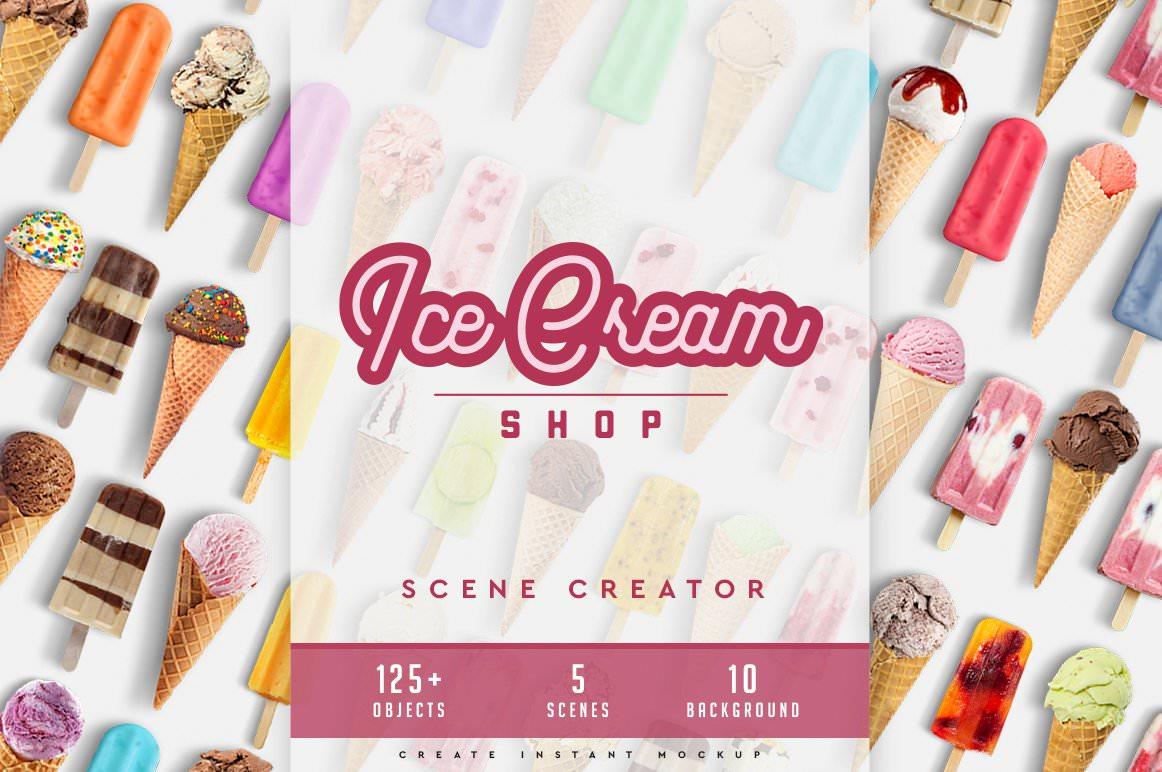 Ice Cream Scene Creator
