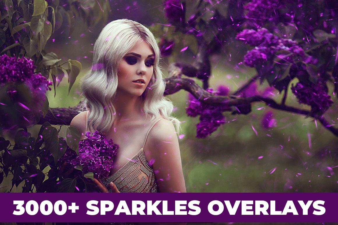 Get 3000+ Sparkles Overlays
