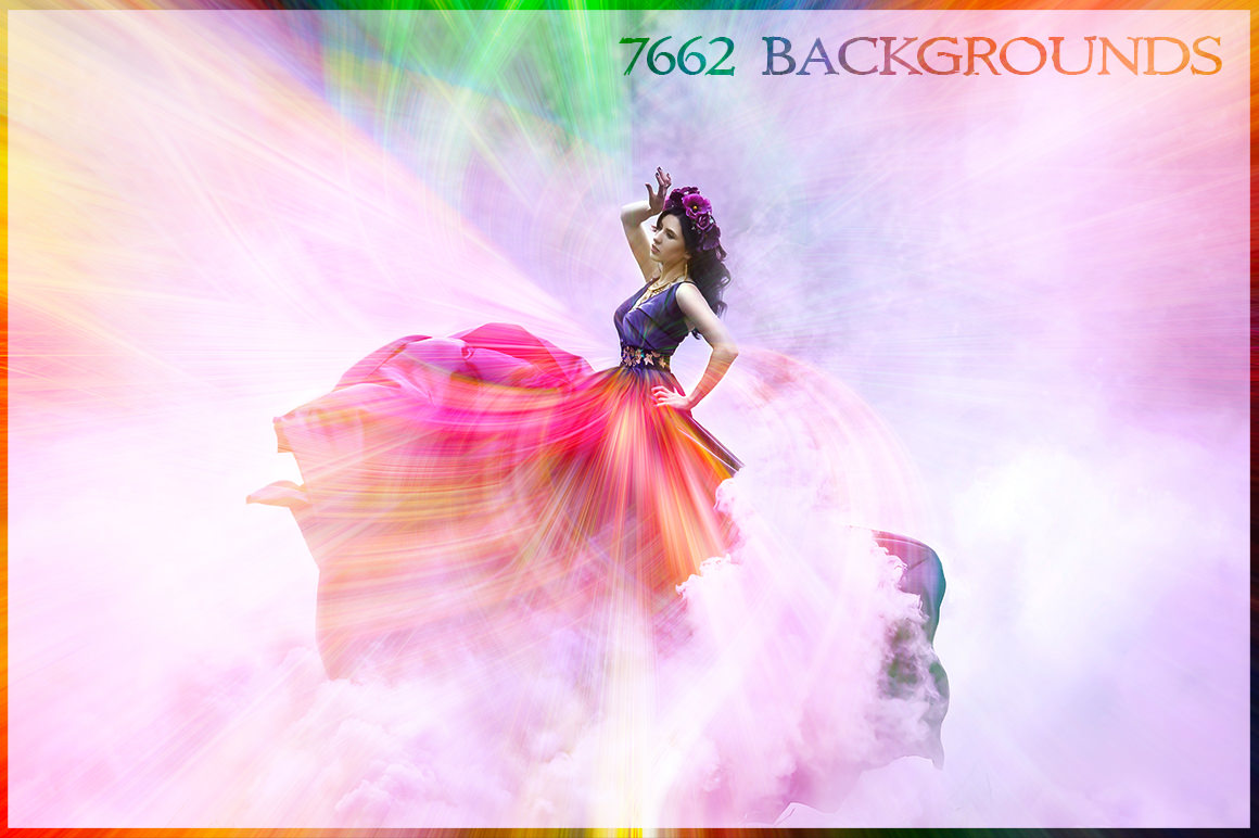 Get 7662 Backgrounds in 4K Resolution for only $21