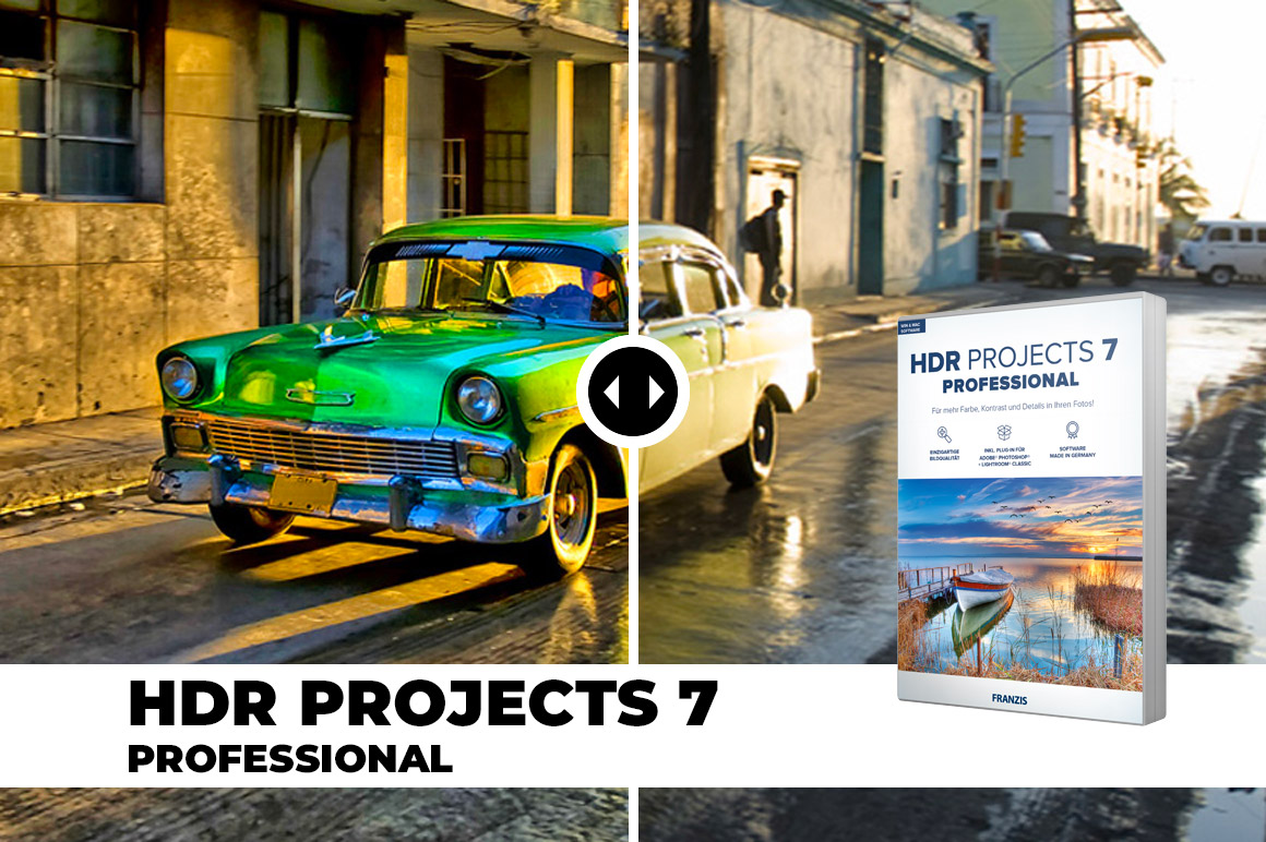 HDR Projects 7 Professional - Create spectacular photos in next to no time