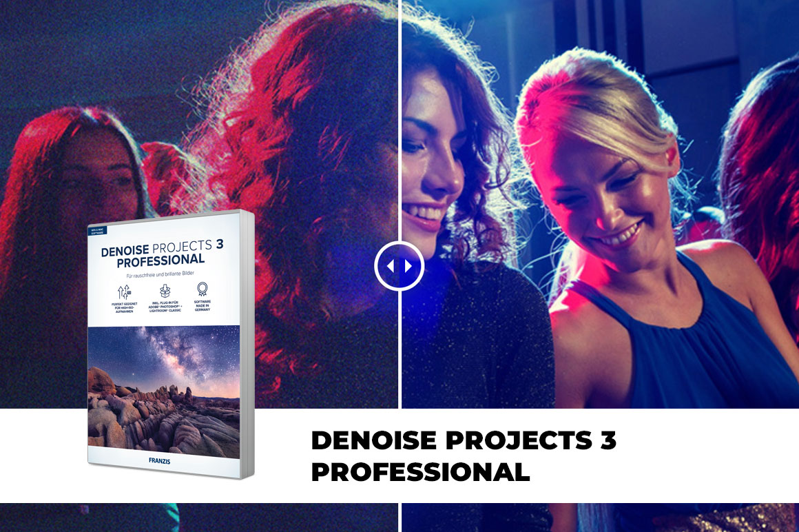 DENOISE Projects 3 Professional - Naturally Noise-free Images