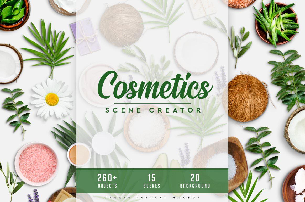 Cosmetics & Spa Scene Generator