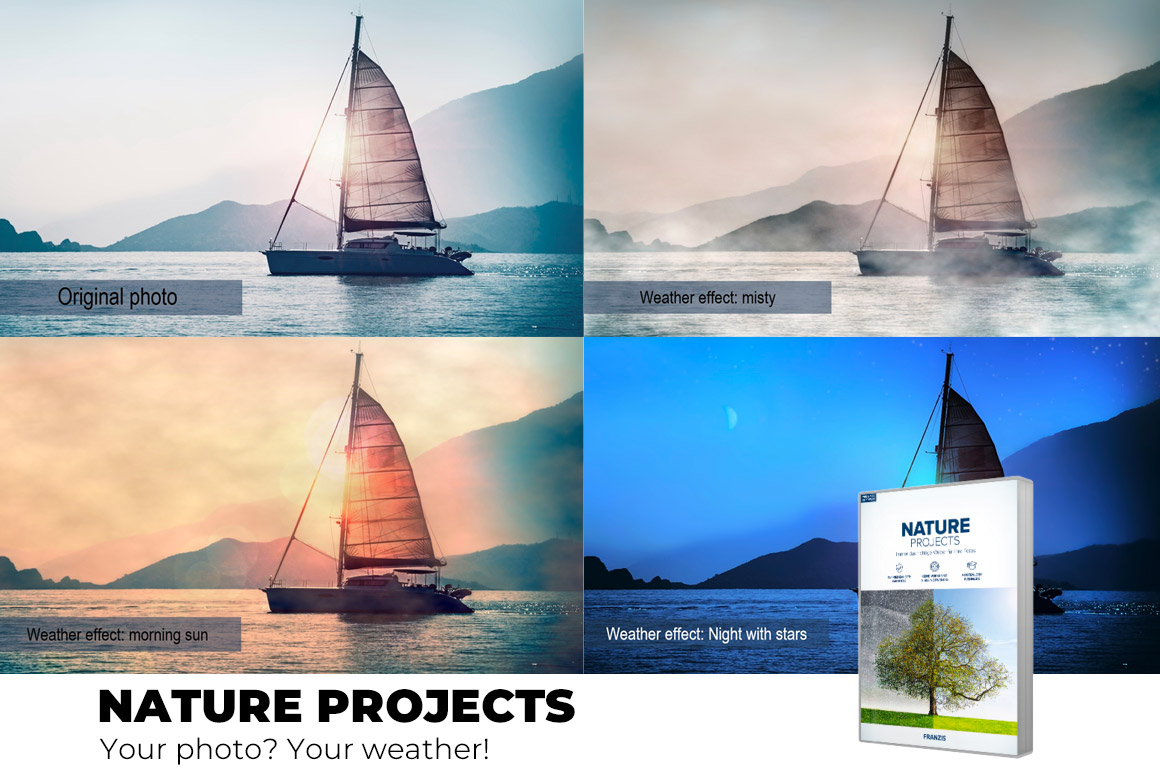 Nature projects - The special software for weather effects