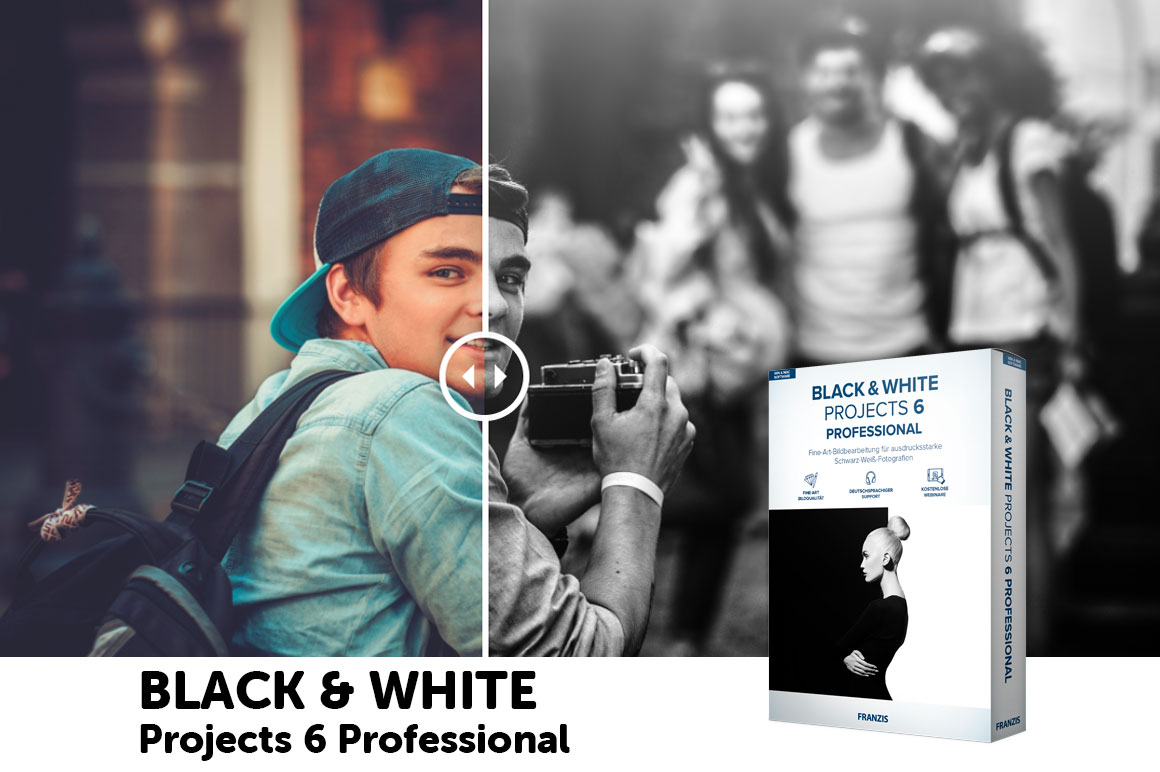 BLACK & WHITE Projects 6 Professional