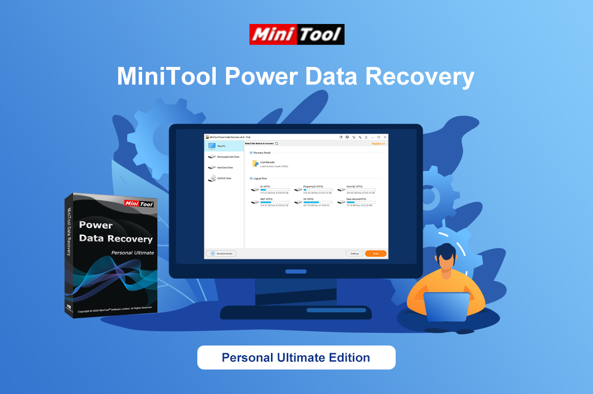 MiniTool Power Data Recovery (Lifetime Upgrade Edition)