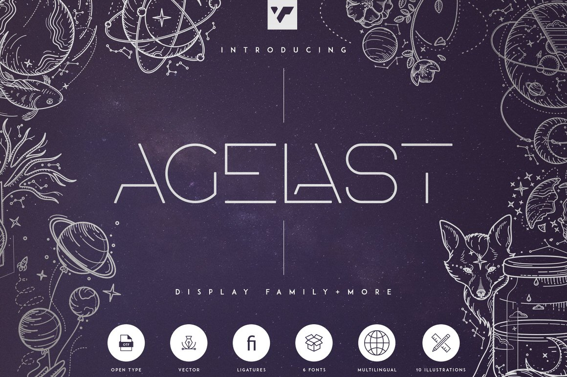 Get the Agelast Display Family + More