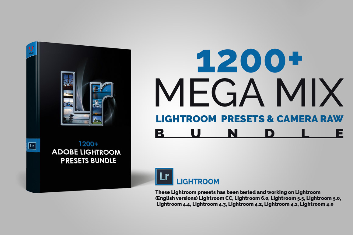 1200+ Sensational LR Presets & Camera Raw Bundle