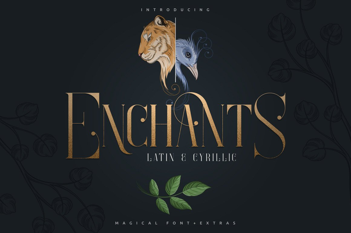 Enchants - Magical font + Extras