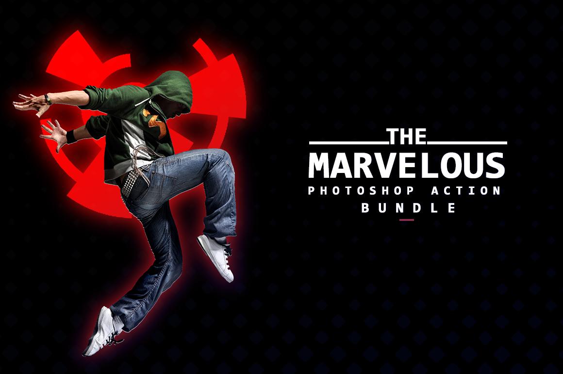 The Marvelous Photoshop Action Bundle