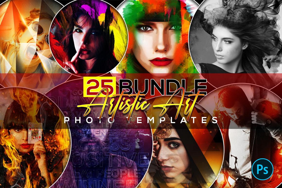 Amazing Art Photo Templates Bundle