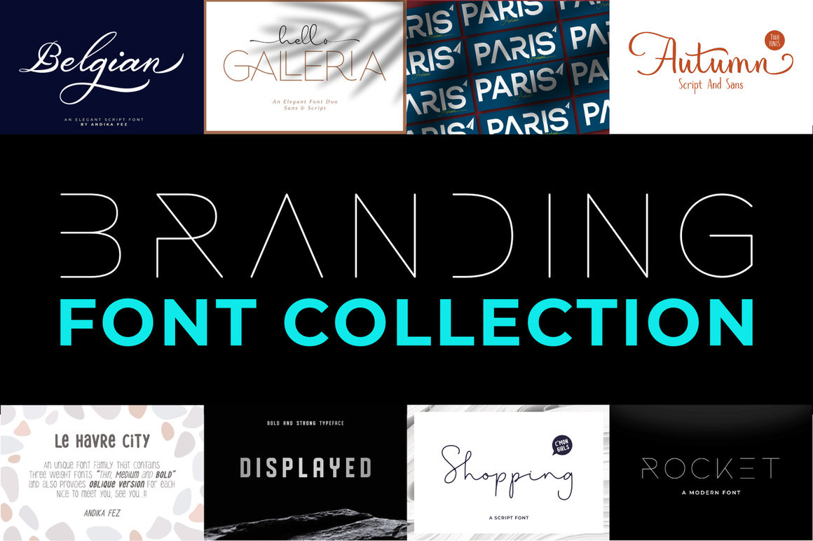 Branding Font Collection