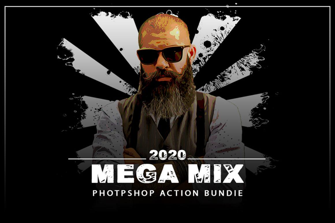 The Mega Mix Photoshop Action Bundle