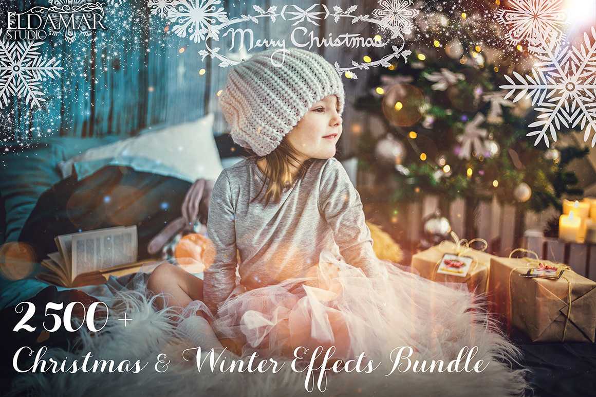 2500+ Christmas & Winter Effects Bundle