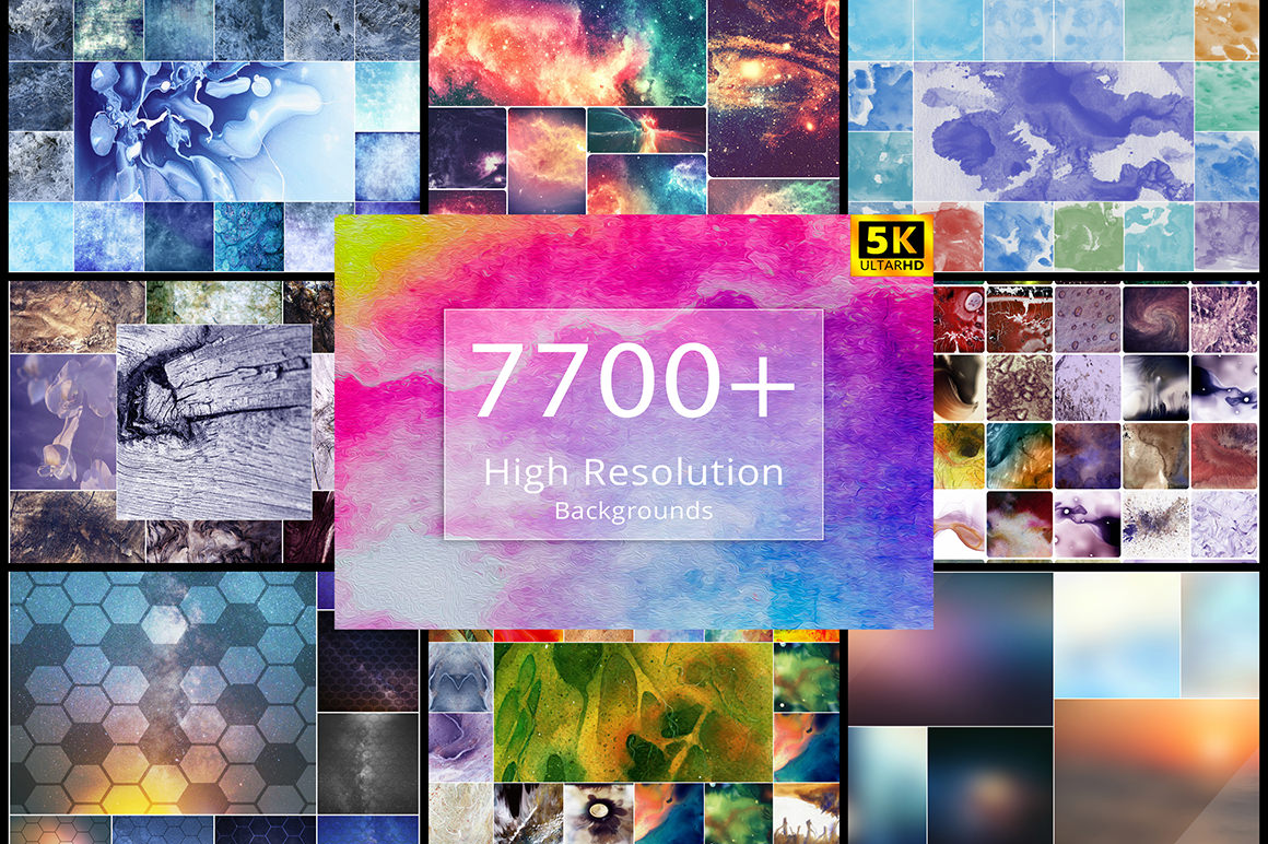 7700+ High-Resolution Backgrounds Bundle