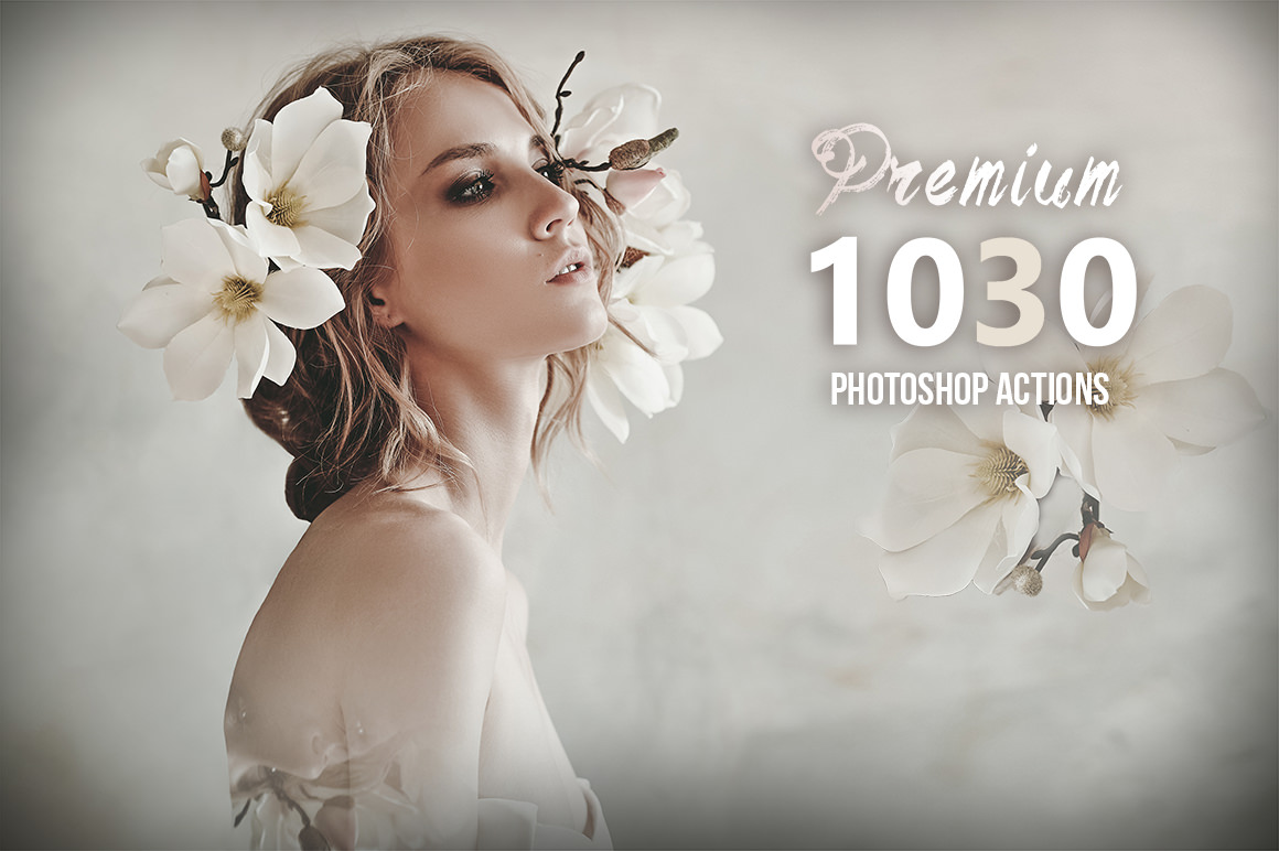 1030+ Premium Photoshop Actions Bundle
