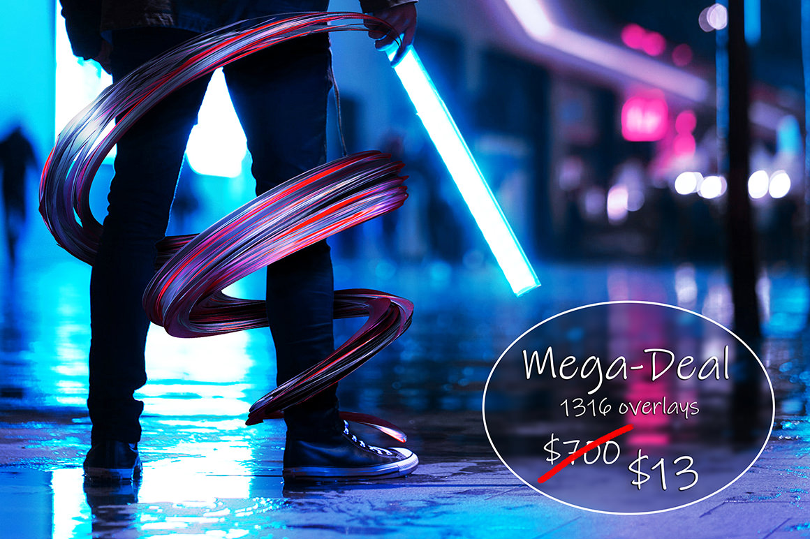 Mega Deal - 1300+ Overlays for only $13