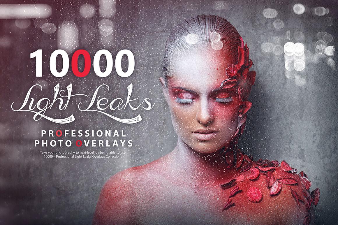 10000+ Professional Light Leaks Photo Overlays