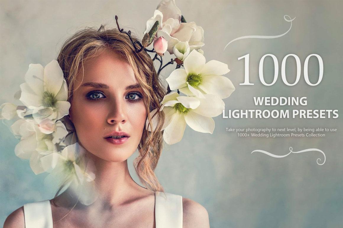 1000+ Wedding Lightroom Presets Collection