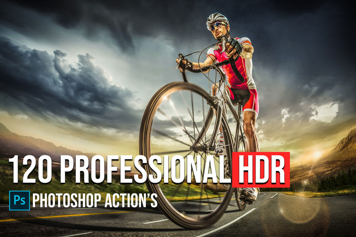 Download 120 Awesome HDR Photoshop Actions