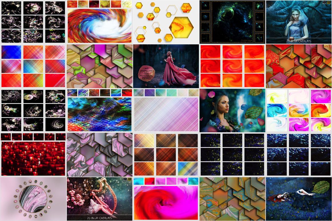 Download 1220 overlay and backgrounds in 4K for only $9