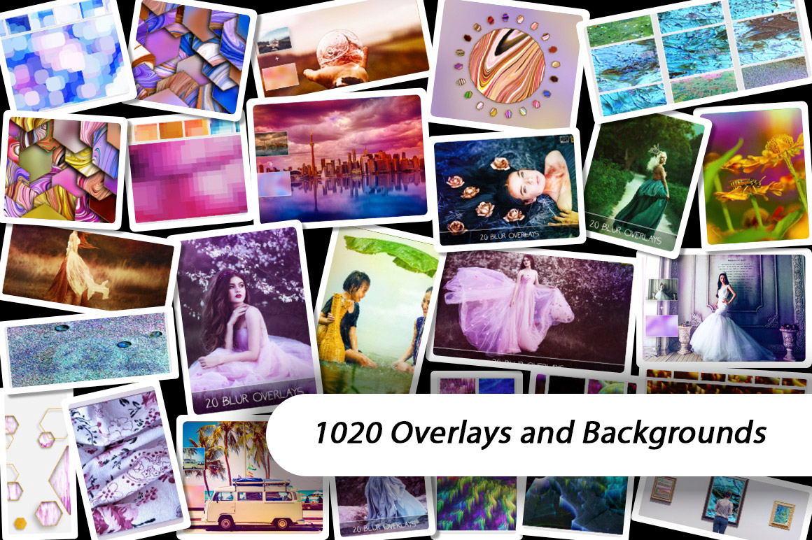 Download 1020 Overlays and Backgrounds