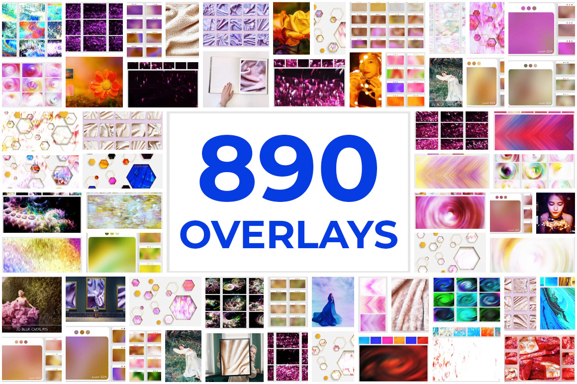 Download 890 Overlays and Backgrounds