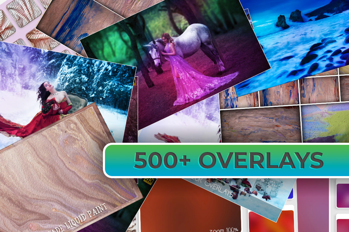 Download 500+ Photo Overlays for Awesome Results
