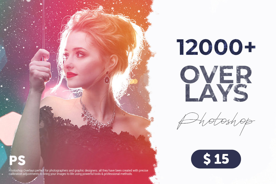 12000+ Premium Overlays for Photoshop