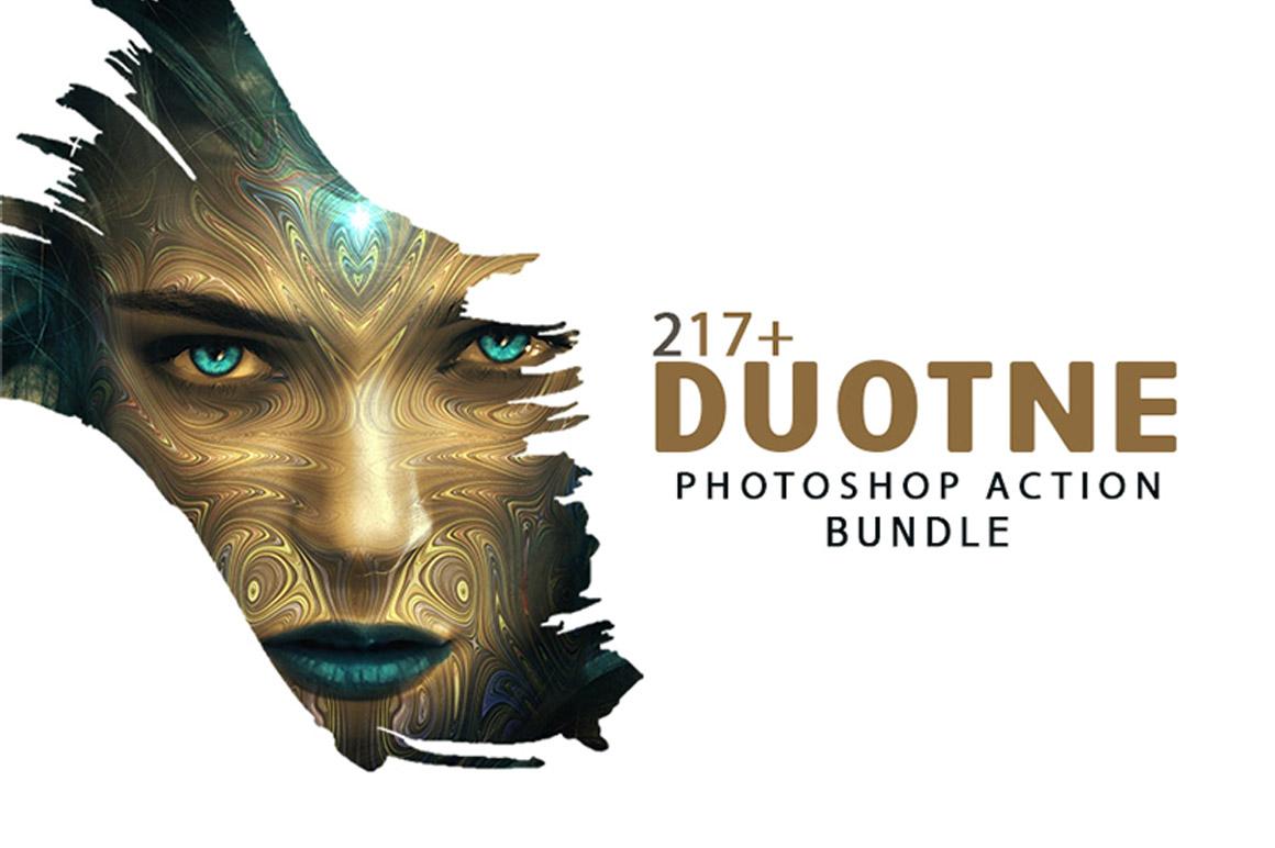 217+ Duotone Photoshop Actions Bundle