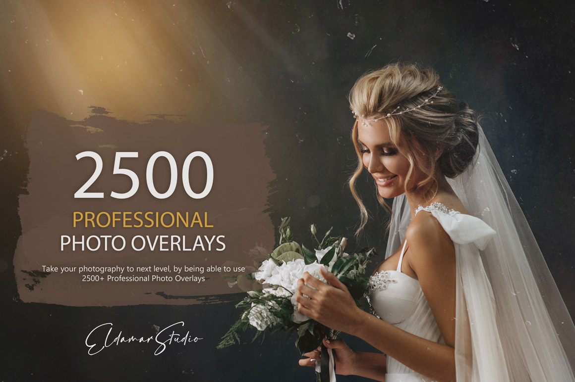 2500+ Professional Photo Overlays Bundle