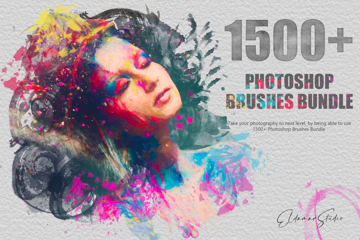 1500+ Photoshop Brushes Bundle - For Artists and Designers