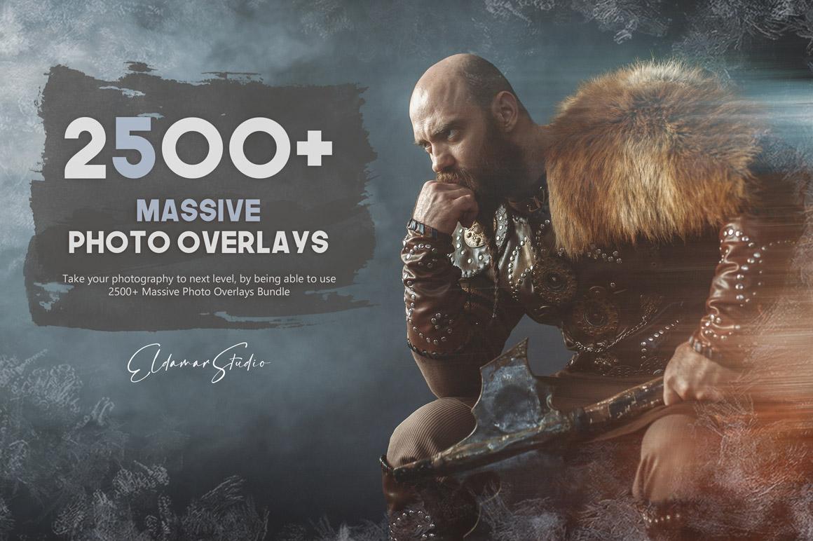 Ultimate Overlay Bundle With 2500+ Photo Overlays